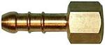 Штуцер газовый Ø10мм с внутренней резьбой N2125