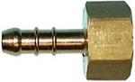 Штуцер газовый Ø10мм с внутренней резьбой N2135